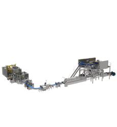 machine conditionnement ligne process